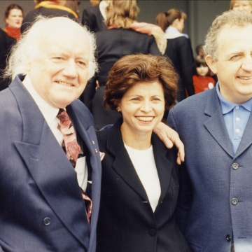 Kvitka with Elmer Iseler and Bramwell Tovey