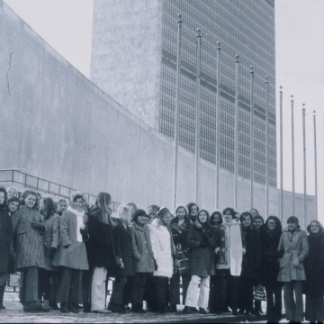 New York United Nations 1970