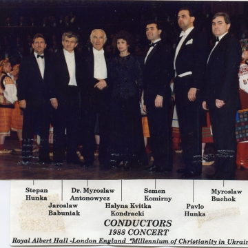 Royal Albert Hall, conductors