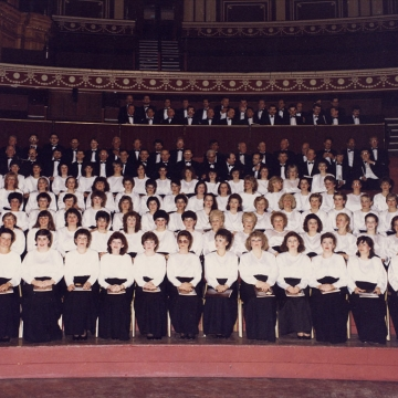 Royal Albert Hall choirs dress rehearsal